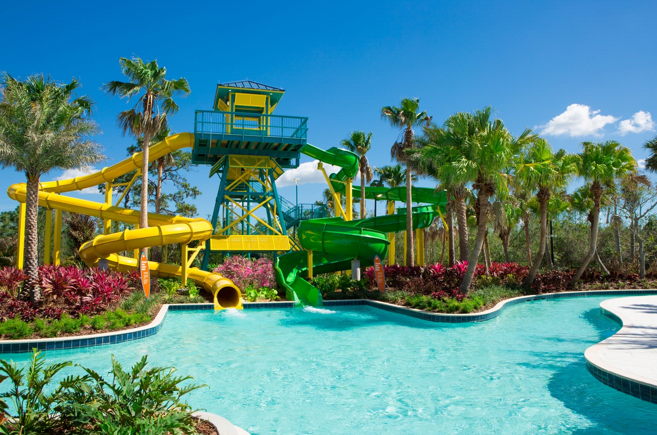 Surfari Water Park Slides & Lazy River